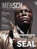 Seal on the cover of Mensch (Brazil) - March 2011