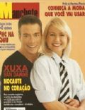 Jean-Claude Van Damme, Xuxa Meneghel on the cover of Manchete (Brazil) - October 1995