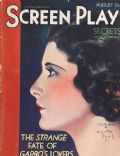Evelyn Brent on the cover of Screen Play (United States) - August 1931