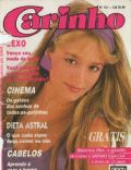 Luciana Vendramini on the cover of Caricia (Brazil) - March 1987