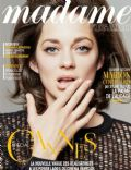 Marion Cotillard on the cover of Madame Figaro (France) - May 2014