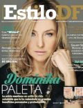 Dominika Paleta on the cover of Estilo Df (Mexico) - March 2014