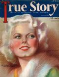Jean Harlow on the cover of True Story (United States) - April 1931