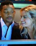 Margot Robbie and Will Smith