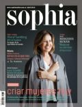 Mercedes Morán on the cover of Sophia (Argentina) - April 2013