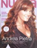 Andrea Pietra on the cover of Nueva (Argentina) - June 2008