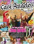 Gastón Dalmau, Juan Pedro Lanzani, María Eugenia Suárez, Mariana Espósito, Nicolas Riera on the cover of Casi Angeles (Argentina) - January 2010