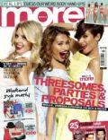 Francesca Sandford, Mollie King, Una Healy on the cover of More (United Kingdom) - March 2013