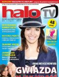 Anna Wendzikowska on the cover of Halo TV (United Kingdom) - May 2011