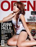 Danna Paola on the cover of Open (Mexico) - June 2011