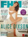 Alice Dixson on the cover of Fhm (Philippines) - December 2013