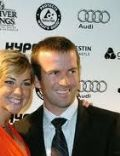 Lucas Black and Maggie O'Brien
