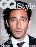 Adrien Brody on the cover of Gq Style (United States) - September 2012