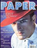 Rupert Everett on the cover of Paper (United States) - March 1998