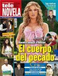 Amores verdaderos, Marjorie De Sousa on the cover of Tele Novela (Spain) - October 2012