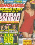 Mariah Carey on the cover of National Enquirer (United States) - April 2008