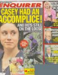 Casey Anthony, Paul Newman on the cover of National Enquirer (United States) - May 2009