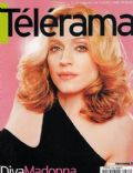 Madonna on the cover of Telerama (France) - October 2000
