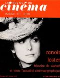 Catherine Deneuve on the cover of La Revue Du Cinema (France) - May 1975