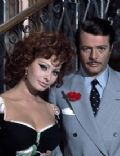 Sophia Loren and Marcello Mastroianni