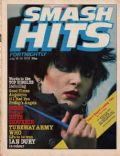 Siouxsie Sioux on the cover of Smash Hits (United Kingdom) - July 1979