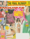 Kirstie Alley on the cover of National Enquirer (United States) - March 2009