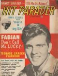 Fabian on the cover of Hit Parader (United States) - December 1962