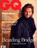 Jeff Bridges on the cover of Gq (United States) - July 1994