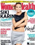 Heidi Klum on the cover of Womens Health (Turkey) - March 2014