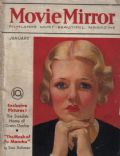 Joan Bennett on the cover of Movie Mirror (United States) - January 1933