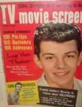 Frankie Avalon on the cover of TV and Movie Screen (United States) - November 1959