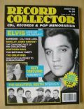 Elvis Presley on the cover of Record Collector (United Kingdom) - August 1999