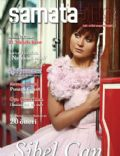 Sibel Can on the cover of Samata (Turkey) - May 2014