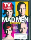 Christina Hendricks, Elisabeth Moss, John Slattery, Jon Hamm on the cover of TV Guide (United States) - March 2012