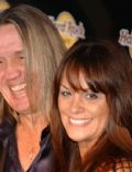 Nicko McBrain and Rebecca