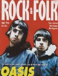 Liam Gallagher, Noel Gallagher on the cover of Rock and Folk (France) - April 1996