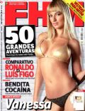 Vanessa Palma on the cover of Fhm (Portugal) - August 2007