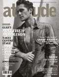 Matthew Morrison on the cover of Attitude (United Kingdom) - June 2011