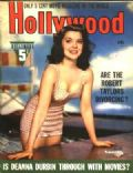 Ann Rutherford on the cover of Hollywood (United States) - April 1941