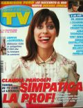 Claudia Pandolfi on the cover of TV Sorrisi E Canzoni (Italy) - May 2008