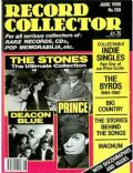 Bill Wyman, Charlie Watts, Keith Richards, Mick Jagger on the cover of Record Collector (United Kingdom) - June 1990