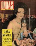 Sara Montiel on the cover of Ondas (Spain) - November 1962