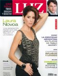 Laura Novoa, Sergio Surraco on the cover of Luz (Argentina) - July 2011