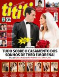 Daniel, Gusttavo Lima, Michael Jackson, Nanda Costa, Rodrigo Lombardi, Salve Jorge on the cover of Tititi (Brazil) - May 2013