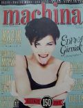Edyta Górniak on the cover of Machina (Poland) - May 1996