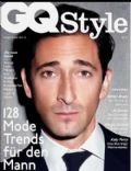 Adrien Brody on the cover of Gq Style (Germany) - December 2012