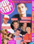 Orlando Bloom on the cover of Popstar (United States) - November 2003