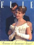 Brigitte Bardot on the cover of Elle (France) - December 1952