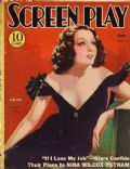 Lupe Velez on the cover of Screen Play (United States) - June 1933