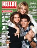 Antonio Banderas, Antonio Banderas and Melanie Griffith, Melanie Griffith on the cover of Hello (Canada) - April 2010